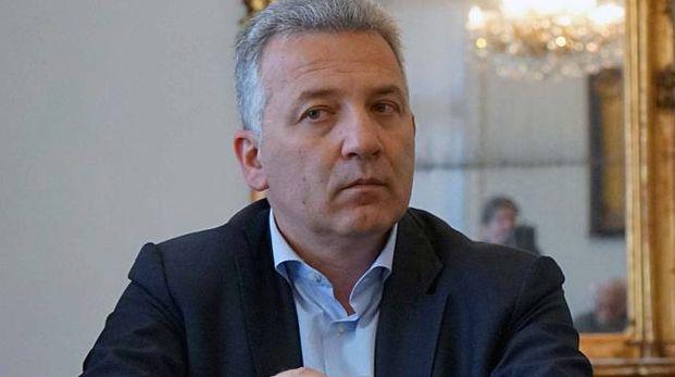 ll sindaco della Spezia Pierluigi Peracchini al suo primo appuntamento per il resoconto di fine anno con la stampa