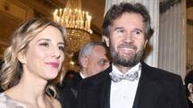 Carlo Cracco e Rosa Fanti alla Prima della Scala (Newpress)