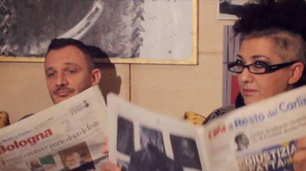 Anche il Carlino, immancabile, nel video di Bån Nadèl