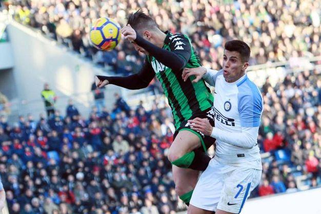 Il gol di Falcinelli (Ansa)