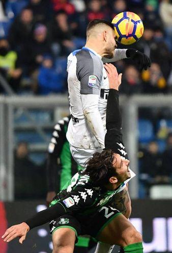 Sassuolo-Inter (Afp)