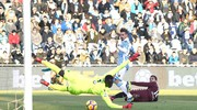 Il gol di Iago Falque al 1'  (foto LaPresse)