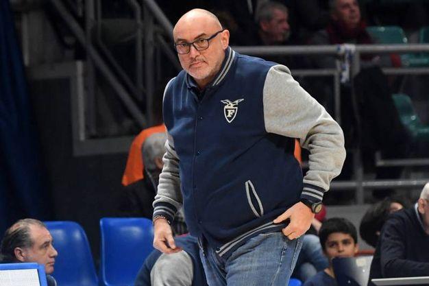 Coach Boniciolli (foto Schicchi)