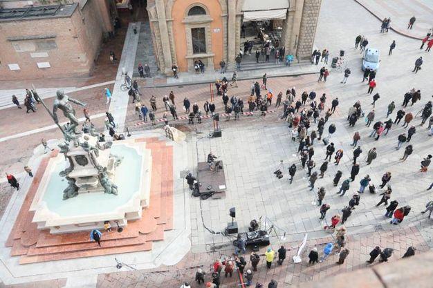 Folla per il ritorno del Nettuno (foto Schicchi)