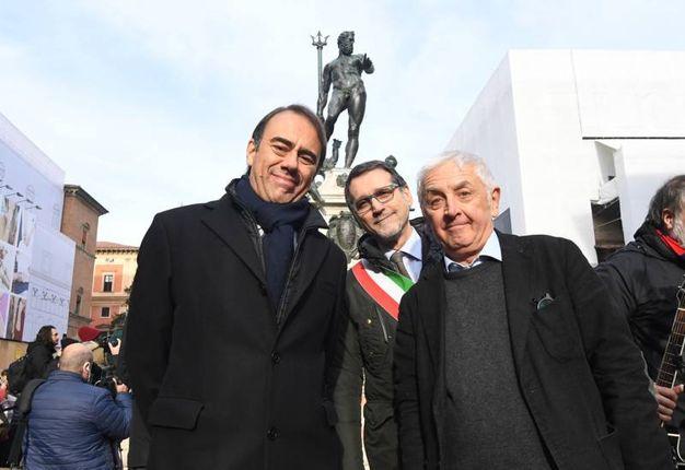 Andrea Cangini e Giorgio Comaschi (foto Schicchi)