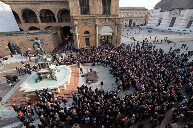 Folla per il Nettuno (FotoSchicchi)