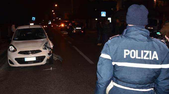 La Polizia Stradale sul posto insieme ai carabinieri (foto Fantini)