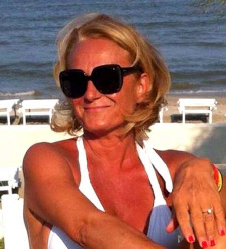Un'immagine felice di Giovanna Rondinelli, morta nel rogo in casa
