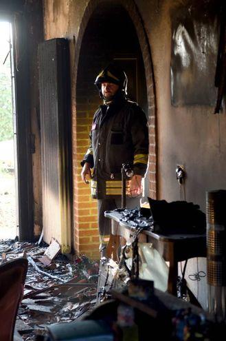 L'interno della casa  (Foto Businesspress)
