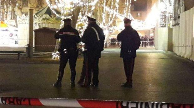 I carabinieri in piazza