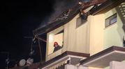 Ingenti danni al tetto  (Foto Ravaglia)