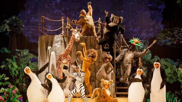 Lo show tratto dal film 'Madagascar' (Foto Studio Cristian Castelnuovo CFC)