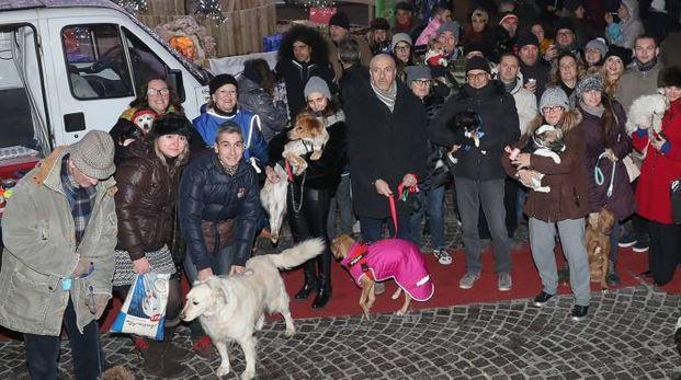 L'iniziativa 'Natale insieme amico cane' compie 27 anni (Foto Fotoprint)