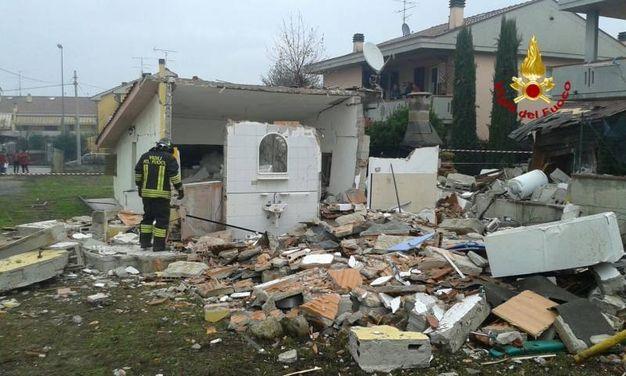 Esplode bombola di gas in una costruzione a Quarrata (Pistoia)