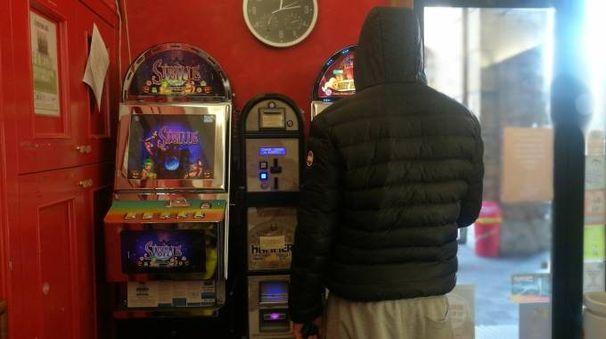 Slot machine sempre nel mirino dei ladri (foto d'Archivio)