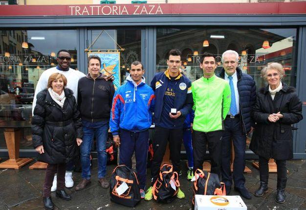 Il podio: Dakhchoune, El Ouardi e Derrien (foto Germogli)