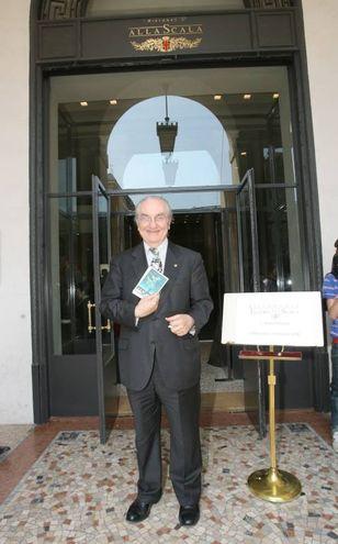 La presentazione del nuovo ristorante Il Marchesino in via Filodrammatici nel 2008 (Newpress)