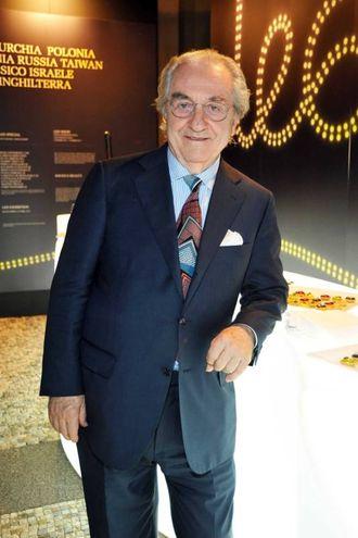 Lo chef Gualtiero Marchesi (Newpress)