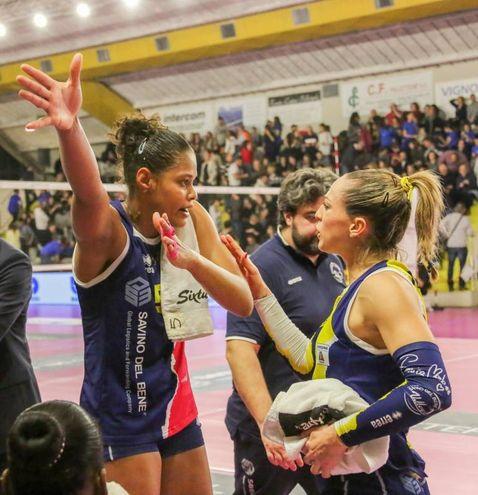Un momento del match (Fotocronache Germogli)