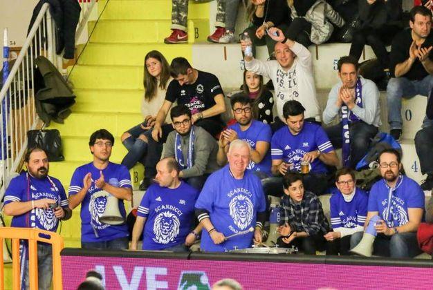 I tifosi di Scandicci (Fotocronache Germogli)