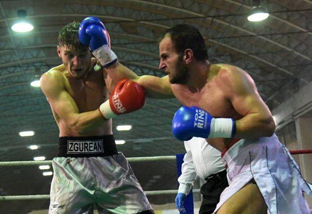 Pavel contro Dragisic (foto Schicchi)
