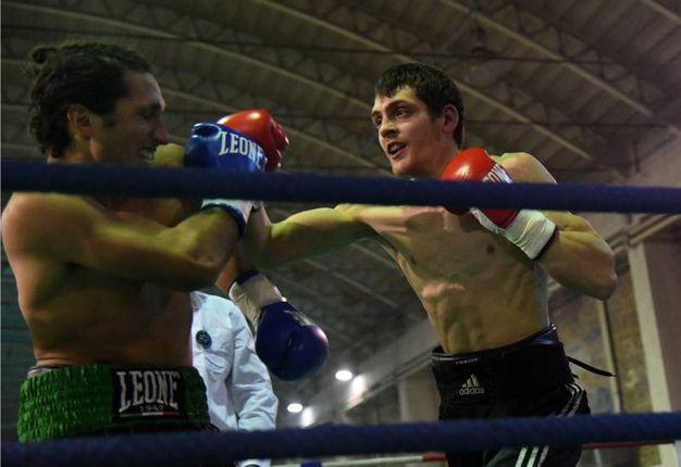 Manuel Vignoli (Tranvieri) contro Lorenzo Calì (foto Schicchi)
