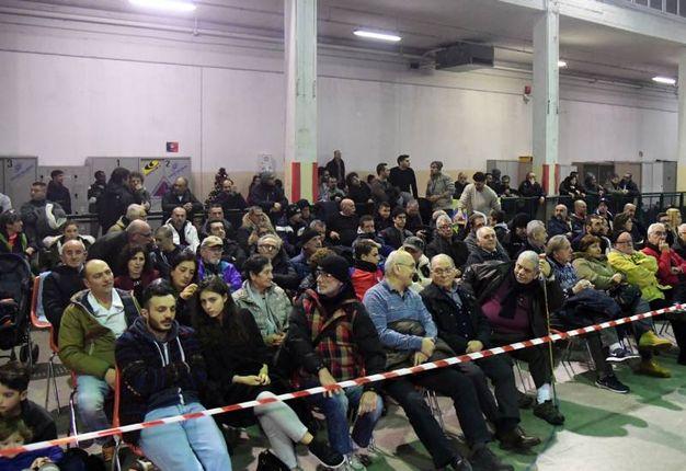 Il folto pubblico allo Sferisterio (foto Schicchi)