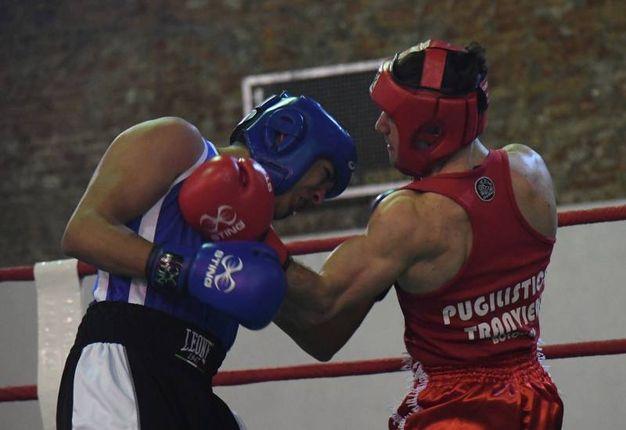 Adriano Leoci (Tranvieri) contro Ashraf Chouikh (Bononia) (foto Schicchi)
