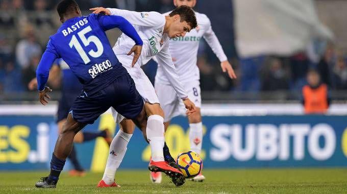 Lazio Fiorentina: Chiesa in azione