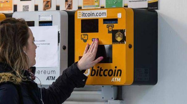 Un bancomat di bitcoin