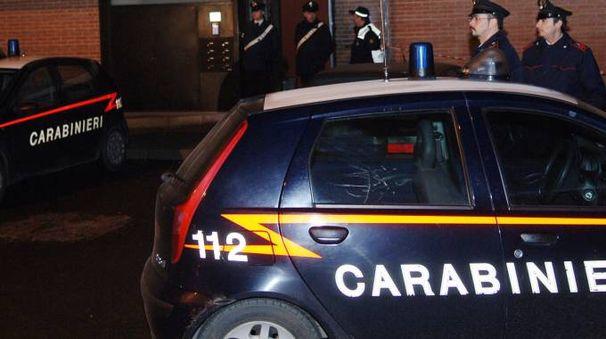 Carabinieri in via Parini a Solaro
