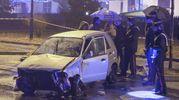 L'incidente mortale a Paderno Dugnano (Newpress)