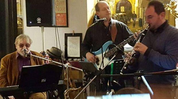 La band in concerto