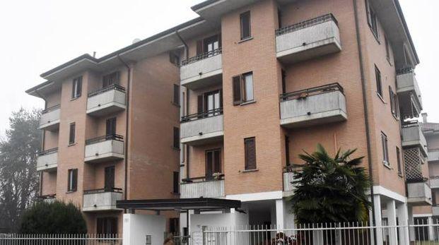 Il palazzo nel quale viveva Michelangelo Redaelli
