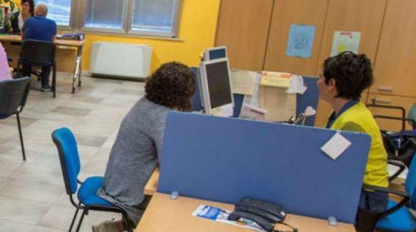 Un colloquio al Centro per l'impiego di Urbino
