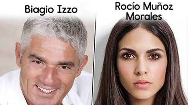 Biagio Izzo e Rocio Morales