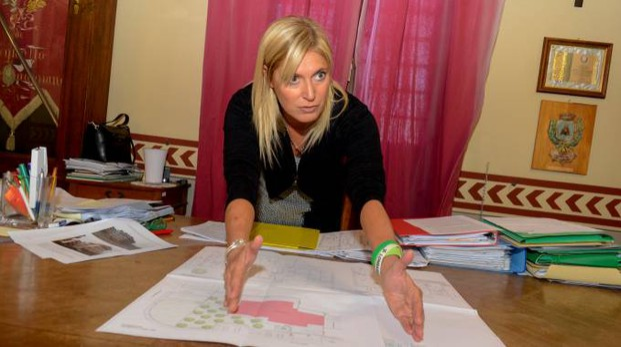 Il sindaco Giovanna Gargioni