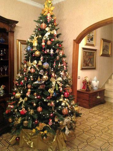 Albero di Natale della famiglia Cecconi di Prato