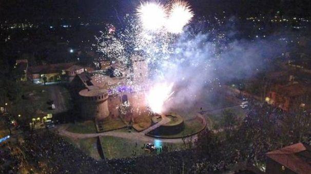 Il capodanno alla Rocca (Isolapress)