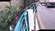 La 500 precipitata dal ponte di San Filippo