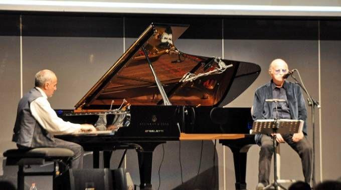 Concerto degli auguri con Gino Paoli e Danilo Rea (Foto Concolino)