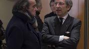 Camera ardente di Gualtiero  Marchesi al Teatro Dal Verme (foto Newpress)