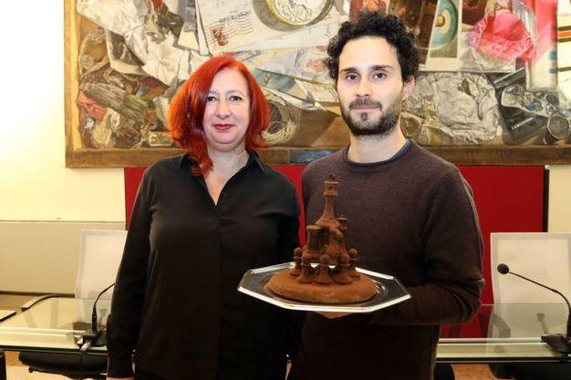 Di Marco e l'assessore Gambarelli (foto Schicchi)