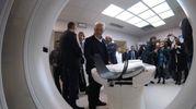 L'Aou ha acquisito e installato una Tac di ultimissima generazione: la Somatom Force della Ditta Siemens, che per le sue caratteristiche tecniche è la più potente al mondo(Foto Antic)