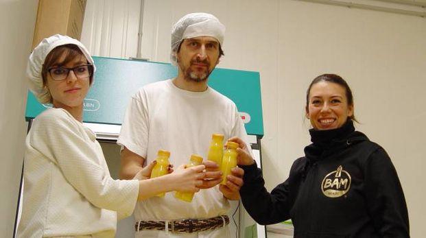 Luca Livrieri, la sorella Luisa e Mauro Vitali produrranno la birra dell'Abbazia