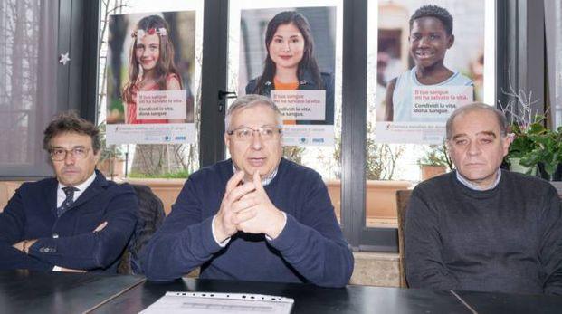I vertici provinciali durante la conferenza stampa (Foto Zeppilli)