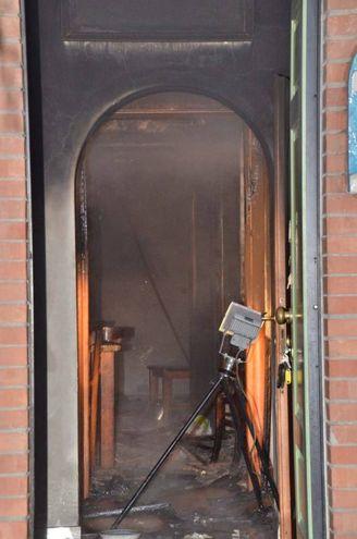 L'interno dell'appartamento (Foto Umicini