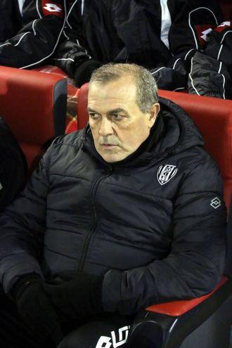 Cremonese-Cesena, l'allenatore Castori (foto LaPresse)