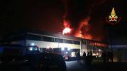 L'incendio di Porcari