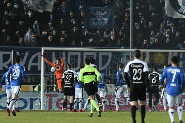 Brescia-Ascoli 0-1 (foto LaPresse)